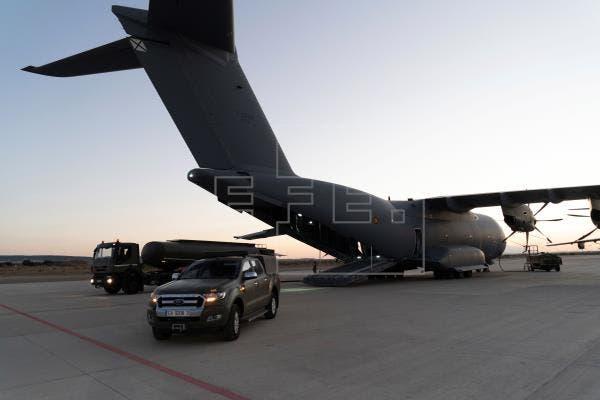 El primer avión que iniciará la evacuación de españoles parte hacia Kabul