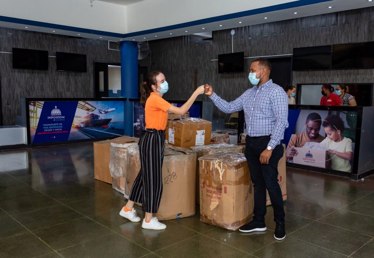 INPOSDOM y Jompéame se unen para envíos de donaciones hacia Haití
