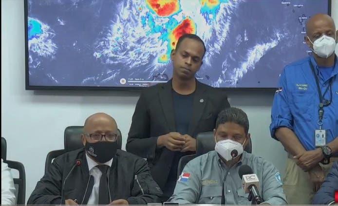 COE reporta 1,375 desplazados y 275 viviendas afectadas por depresión tropical Grace