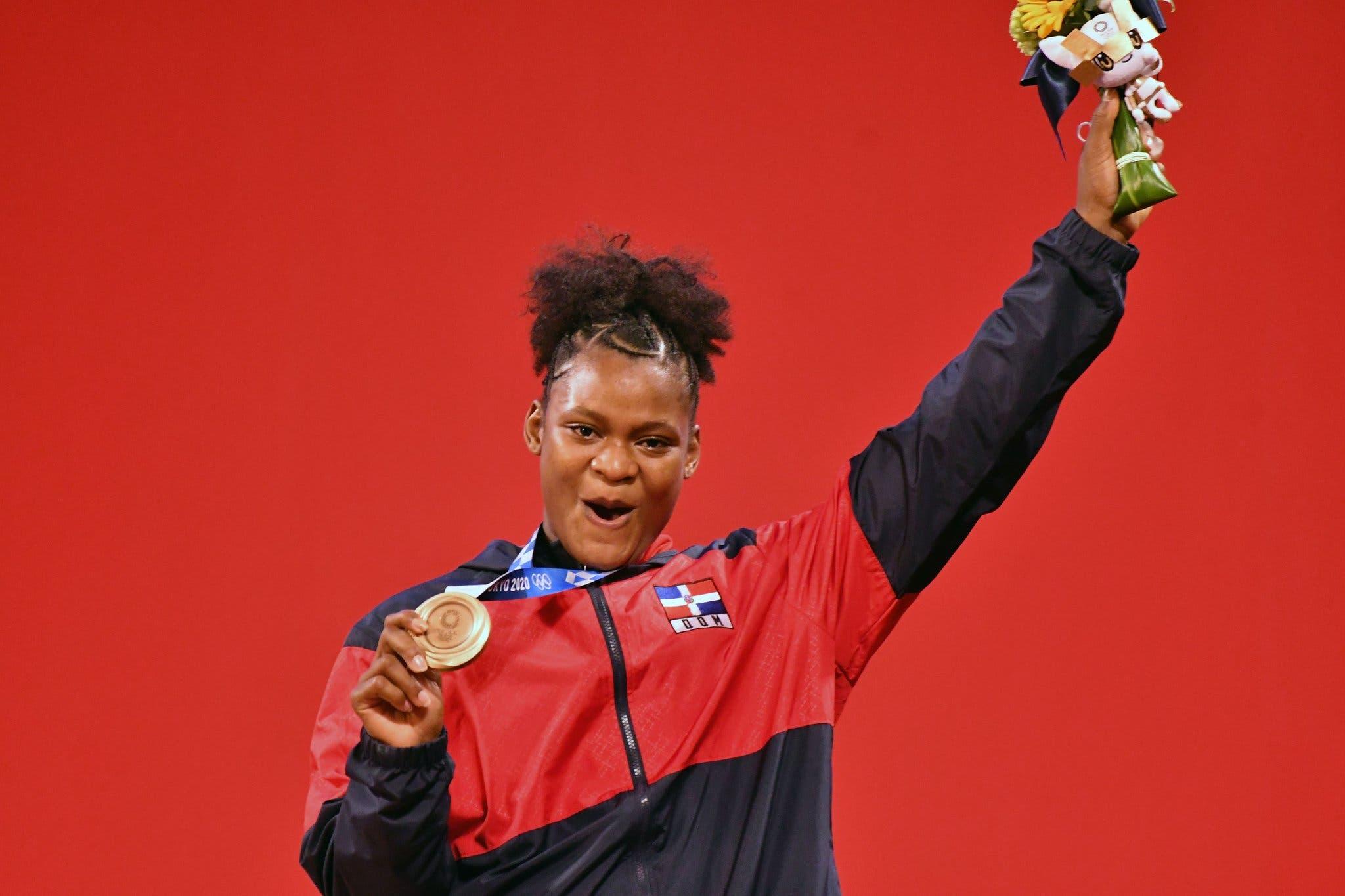 Crismery Santana gana medalla de bronce en Juegos Olímpicos de Tokio