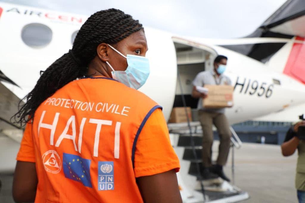 Ayuda humanitaria de RD llega a Haití tras fuerte terremoto
