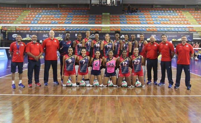 Reinas del Caribe derrotan 3-0 a Costa Rica en apertura del Torneo Continental NORCECA