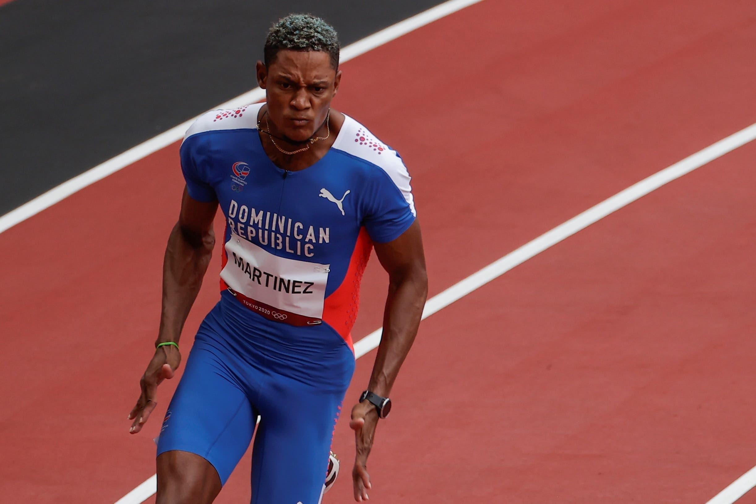 Yancarlos Martínez se queda y no logra avanzar a la final 200 metros en Tokio 2020