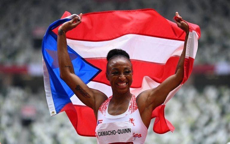 Camacho-Quinn logra oro en 100 metros vallas en olimpíadas para Puerto Rico