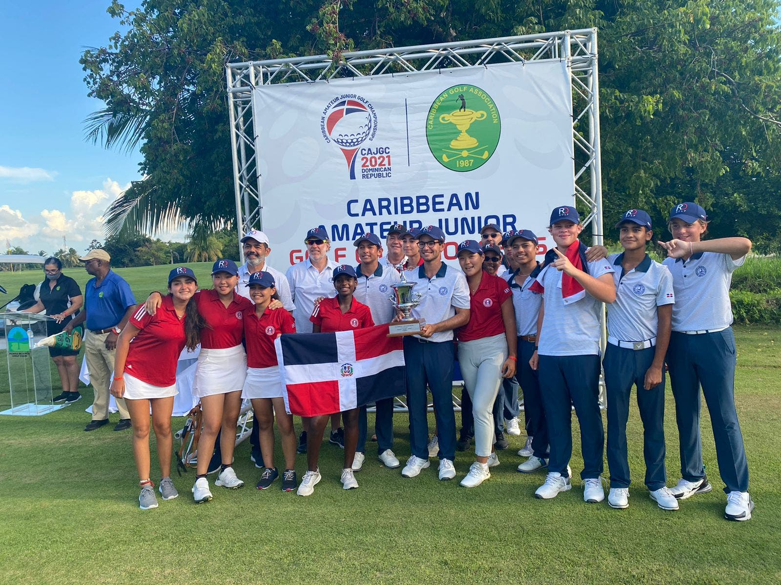 Histórico: RD gana el Caribbean Amateur Junior Golf Championships