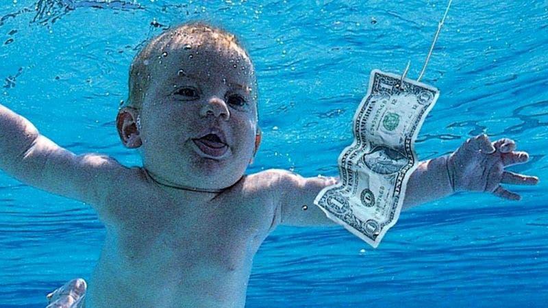 Nevermind de Nirvana: el joven que apareció de bebé en la portada del álbum demanda a la banda por pornografía infantil