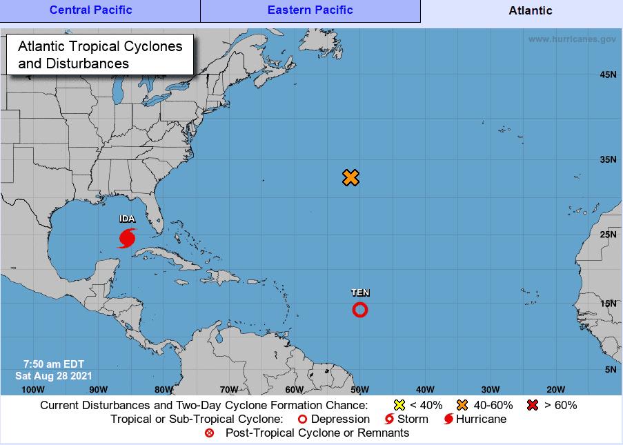 Luisiana se prepara para el impacto del huracán Ida tras azotar oeste de Cuba