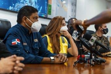 Carolina Mejía supervisa zonas vulnerables ante paso de tormenta Grace