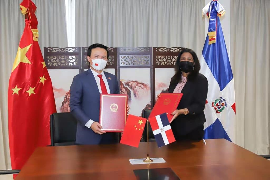 CONANI recibe aporte de la Embajada de la República Popular China
