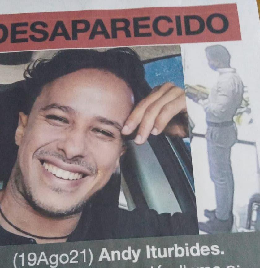 Policía continúa búsqueda del actor Andy Iturbides y otras dos personas que están desaparecidas