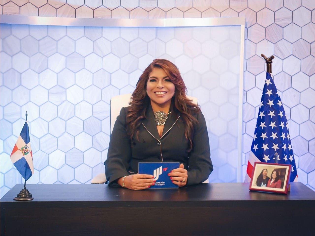 Abogada Jacqueline Jiménez debuta en televisión con programa