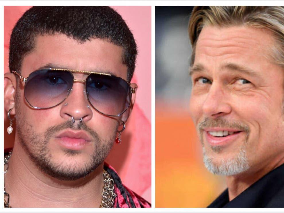"""Bad Bunny y Brad Pitt se pelean en las primeras imágenes de """"Bullet Train» Las Vegas"""