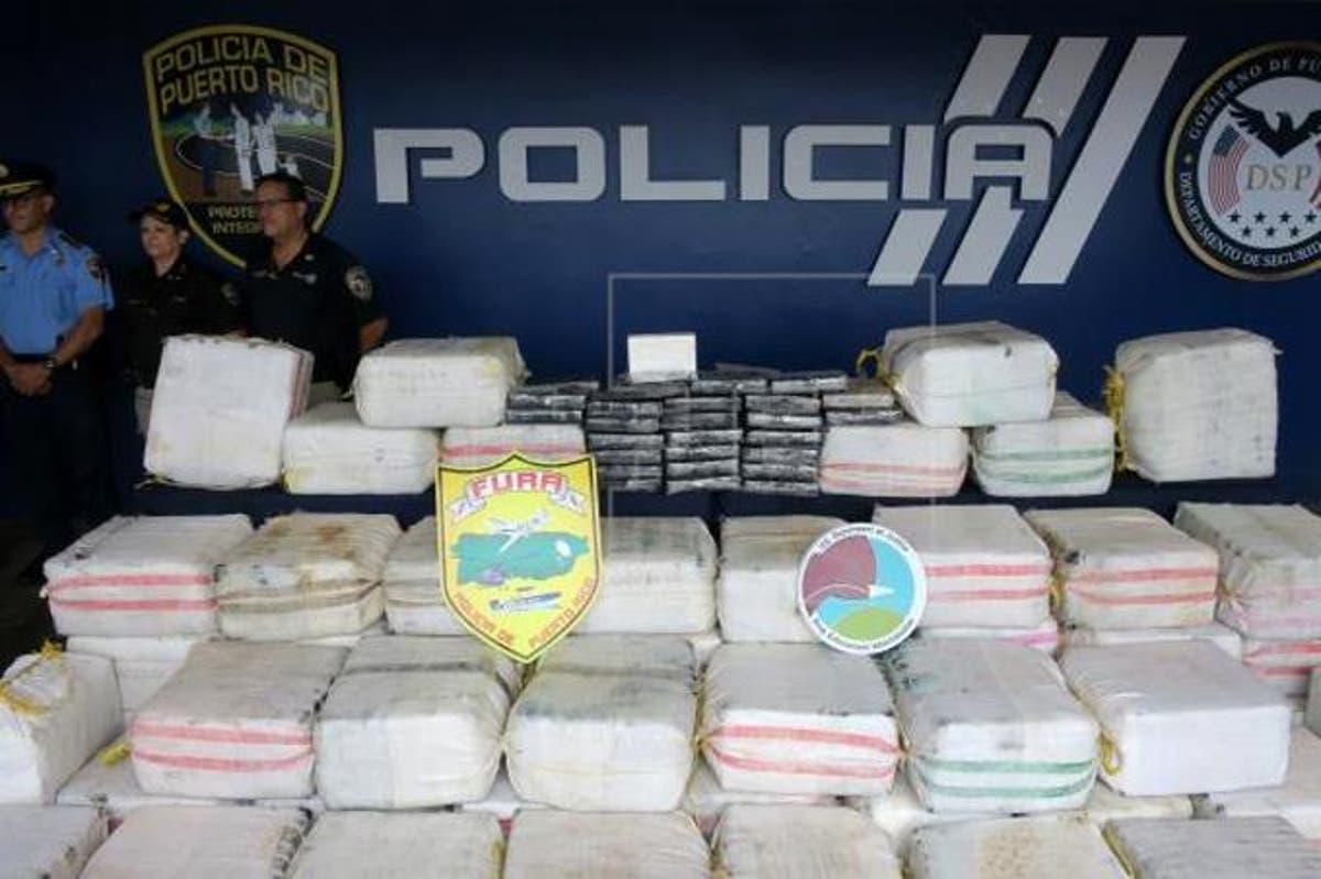 Cae en Puerto Rico cargamento de cocaína valorado en 12 millones de dólares