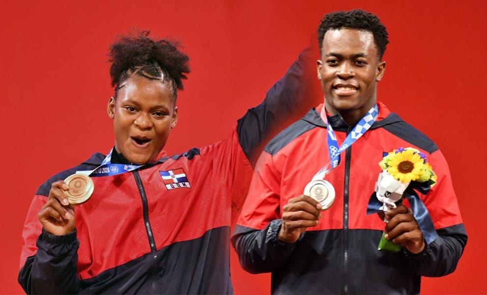 Medallistas olímpicos Zacarías Bonnat y Crismery Santana llegan al país este jueves