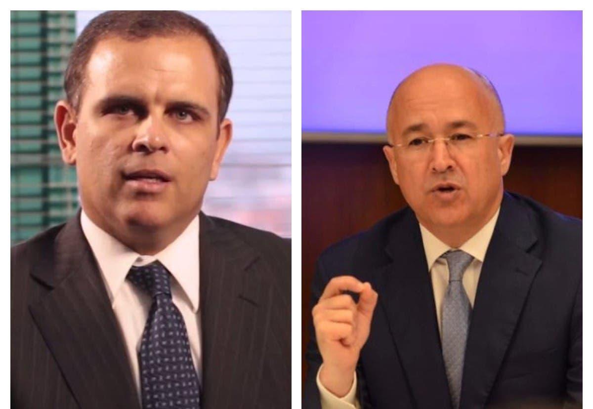 Ministro de Hacienda escenifica «match digital» con Domínguez Brito por el endeudamiento