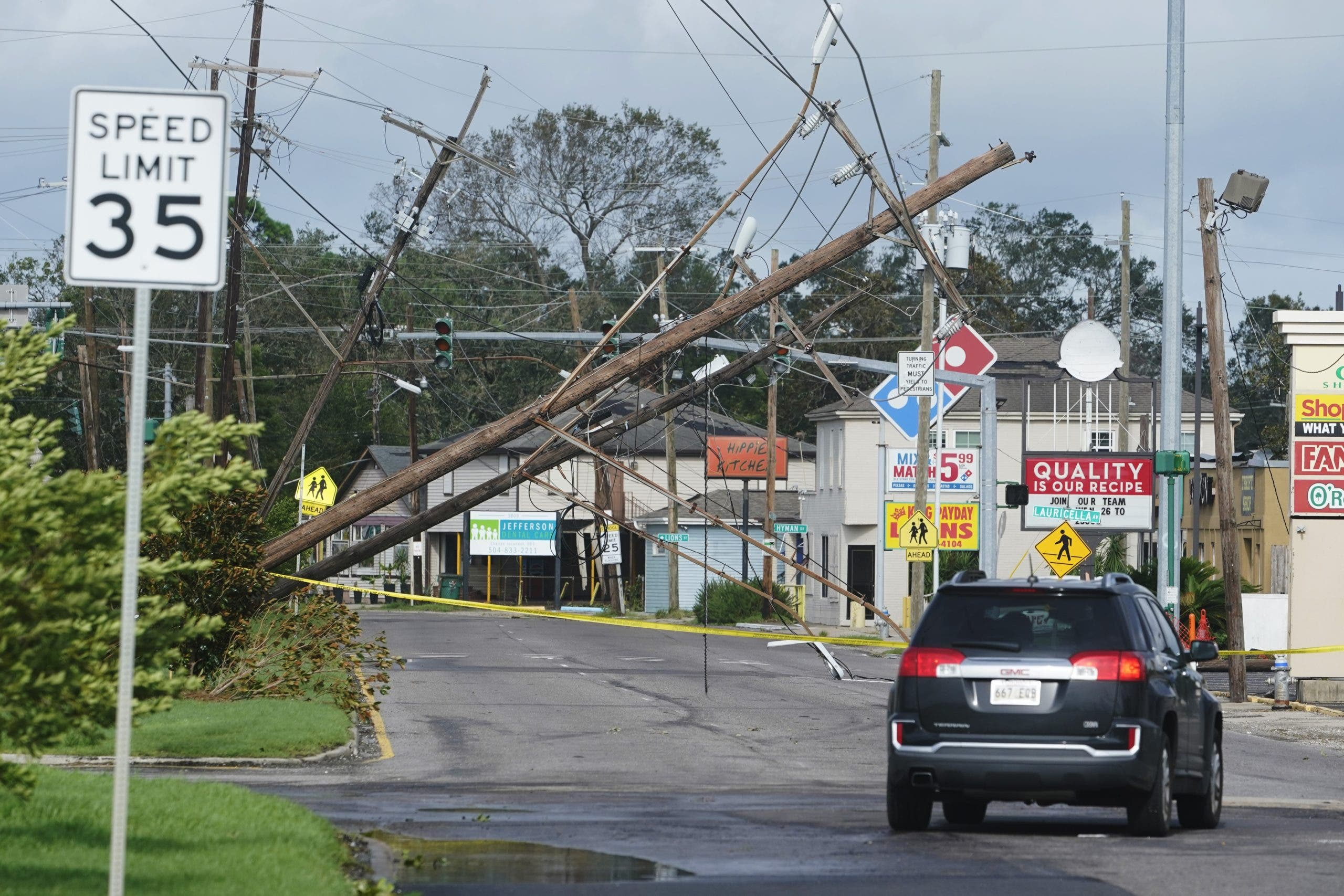 Huracán  Ida deja 2 muertos y destroza la red eléctrica de Luisiana