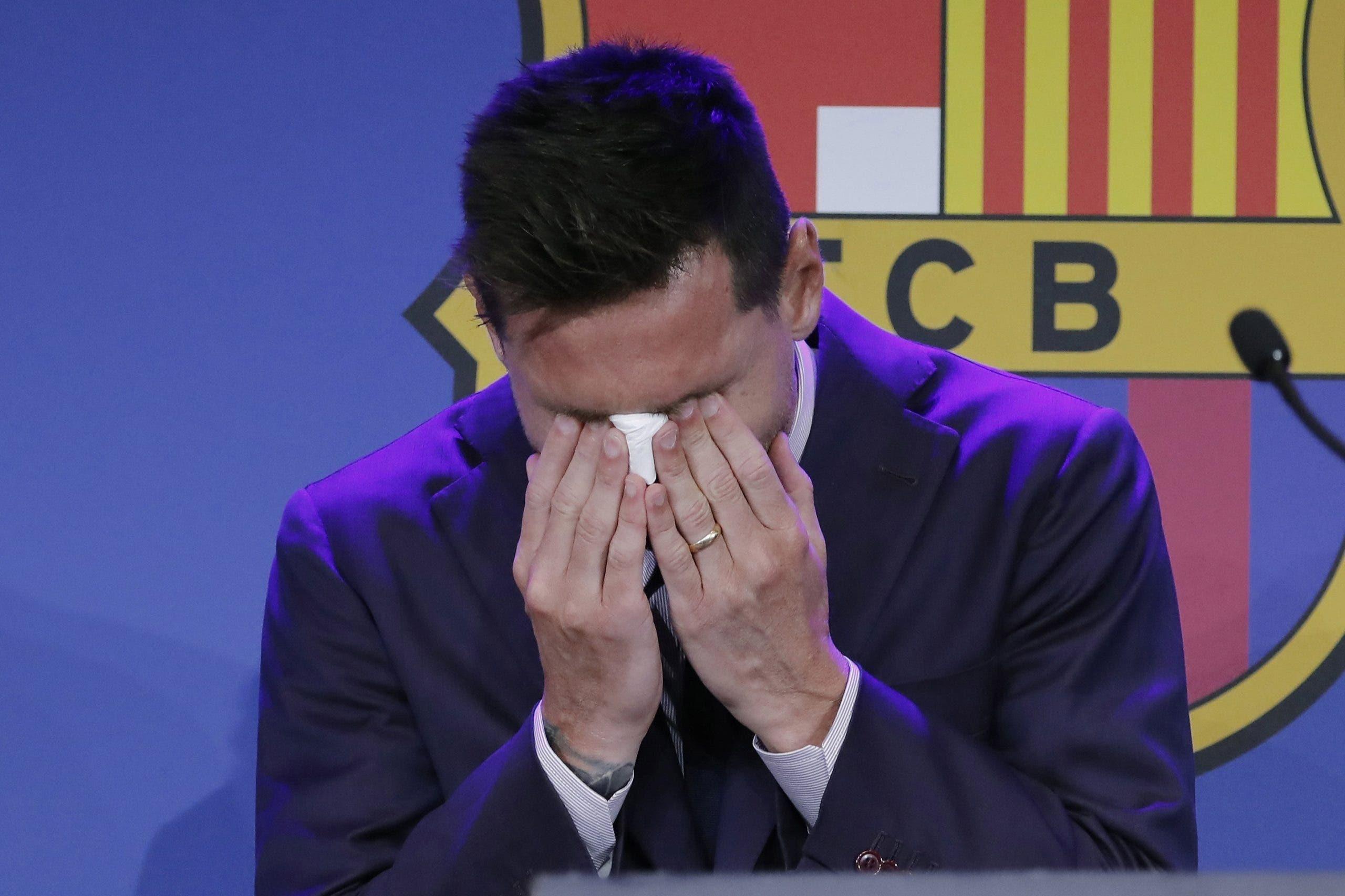 Lionel  Messi: 'No estaba preparado para marcharme' del Barcelona