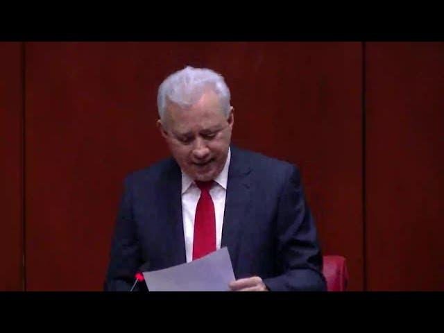 Antonio Taveras reconoce labor oposición PLD y FP en Senado