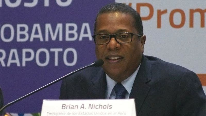 Brian Nichols, elegido para manejar las relaciones de EE.UU. y América Latina