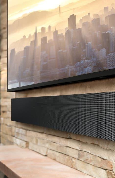 Samsung muestra línea de televisores