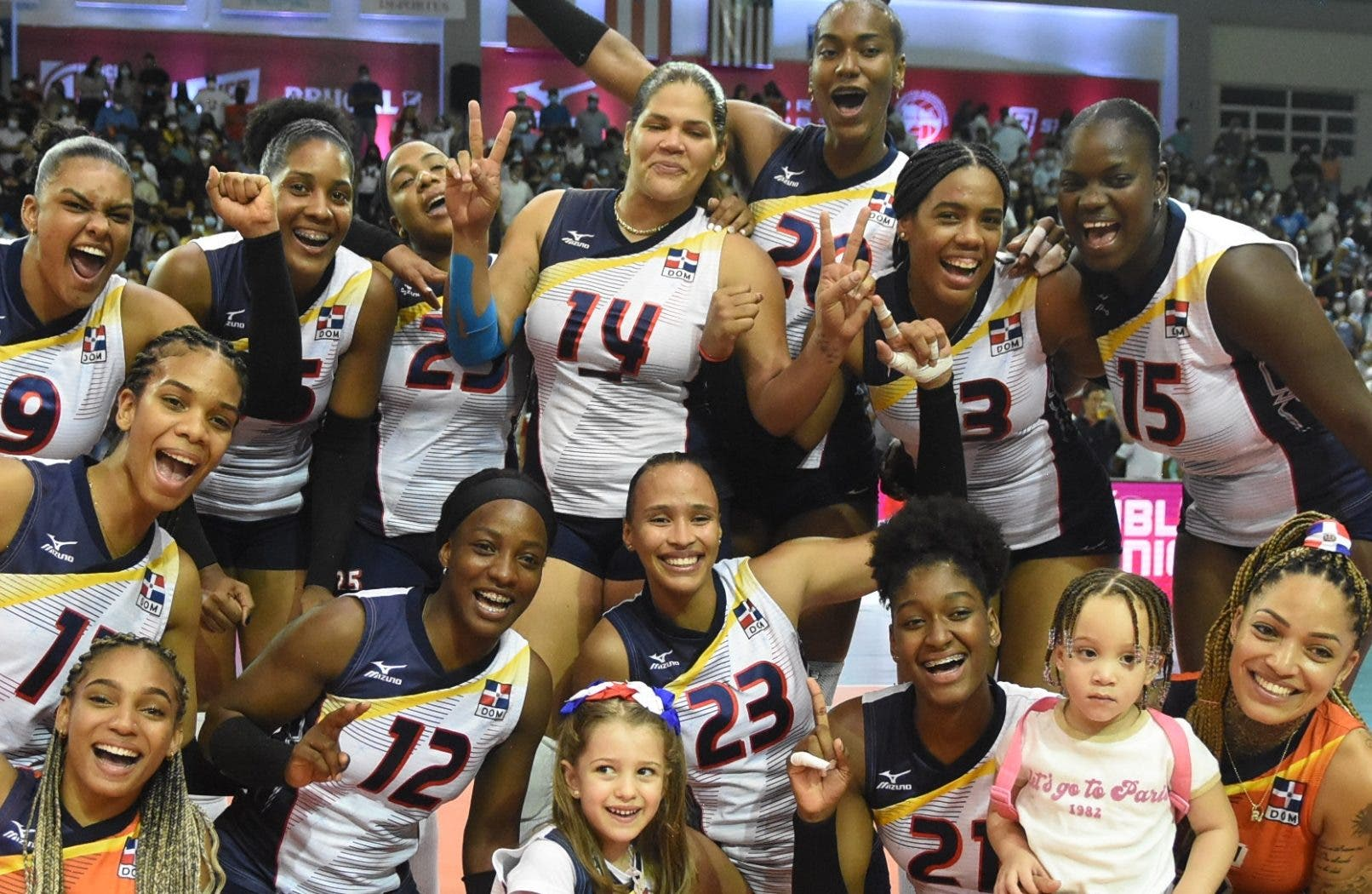 Dominicana ¡campeón!:  Voleibol RD logra 5to. oro Copa Panam; Rivera se va