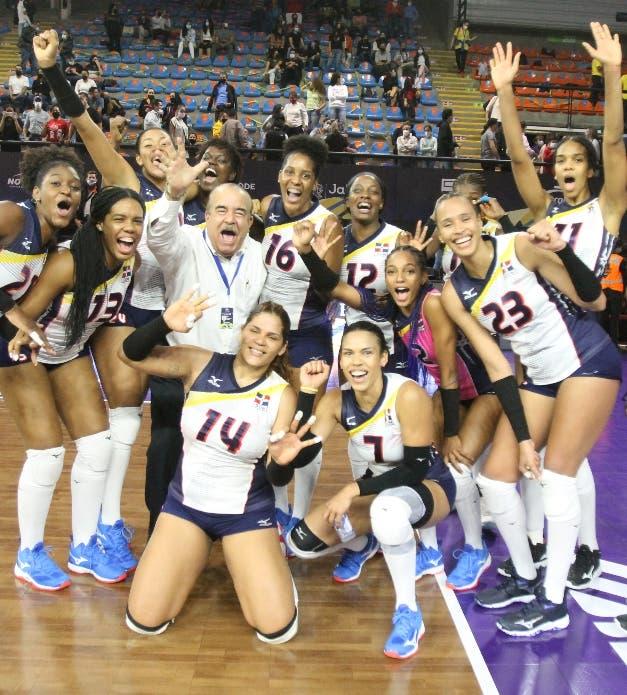 Reinas del Caribe retienen  título Norceca al vencer Puerto Rico