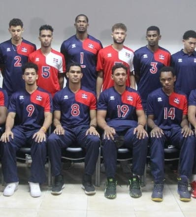 Voleibol masculino RD se mide  hoy Puerto Rico