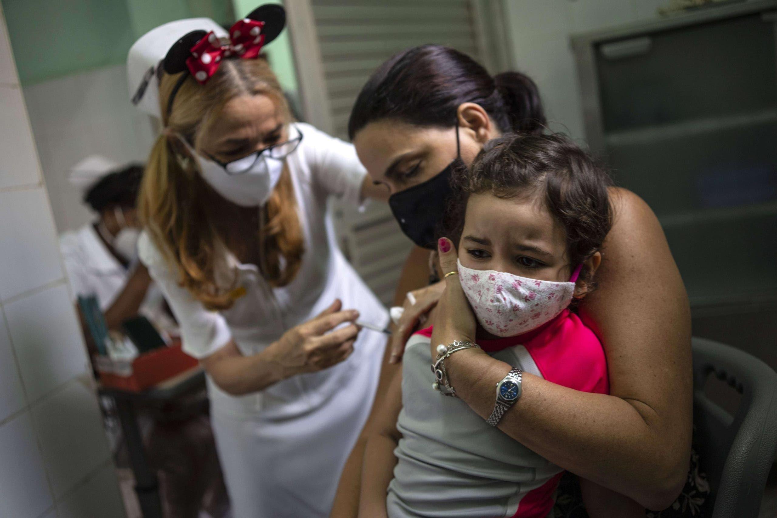 Cuba inicia vacunación contra el COVID en niños de dos años