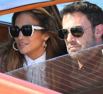 Jennifer Lopez y Ben Affleck en cine  Venecia