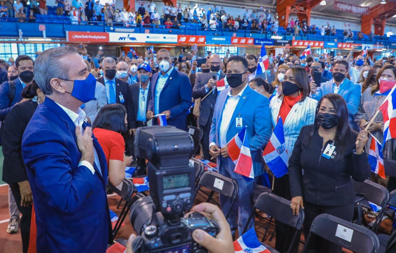 Luis Abinader presenta a la diáspora avances sobre Covid y la corrupción