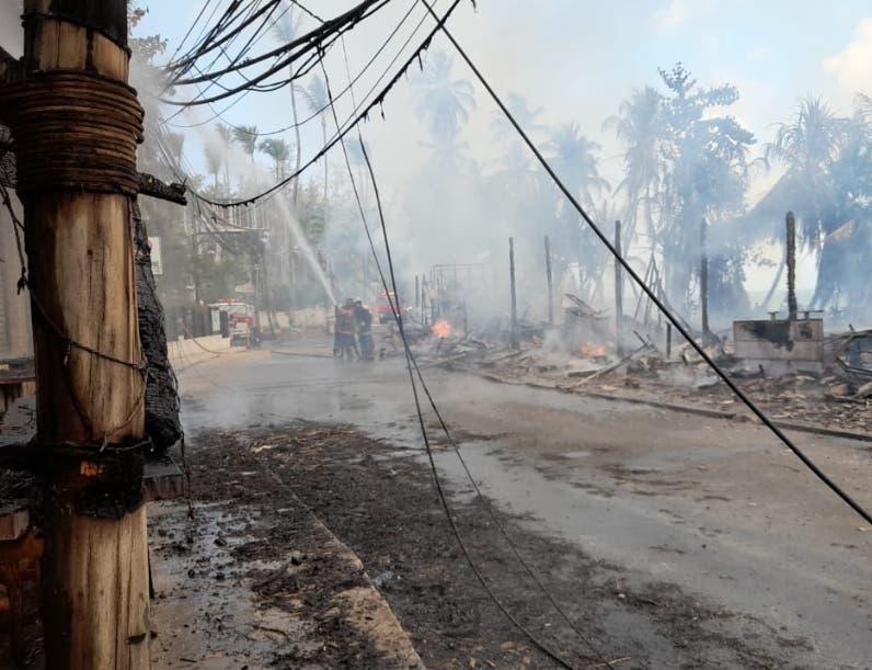 Fuego Las Terrenas repite la historia  10  años después
