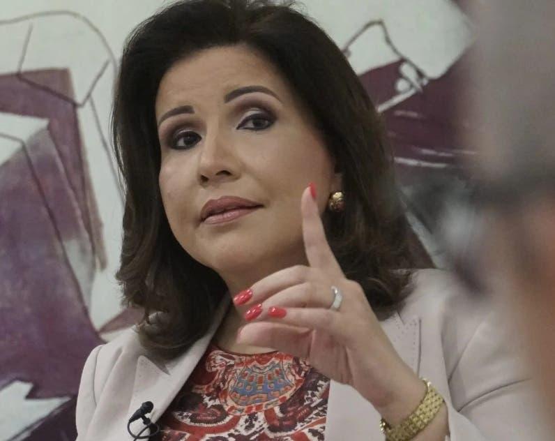 Margarita Cedeño buscará la nominación presidencial PLD