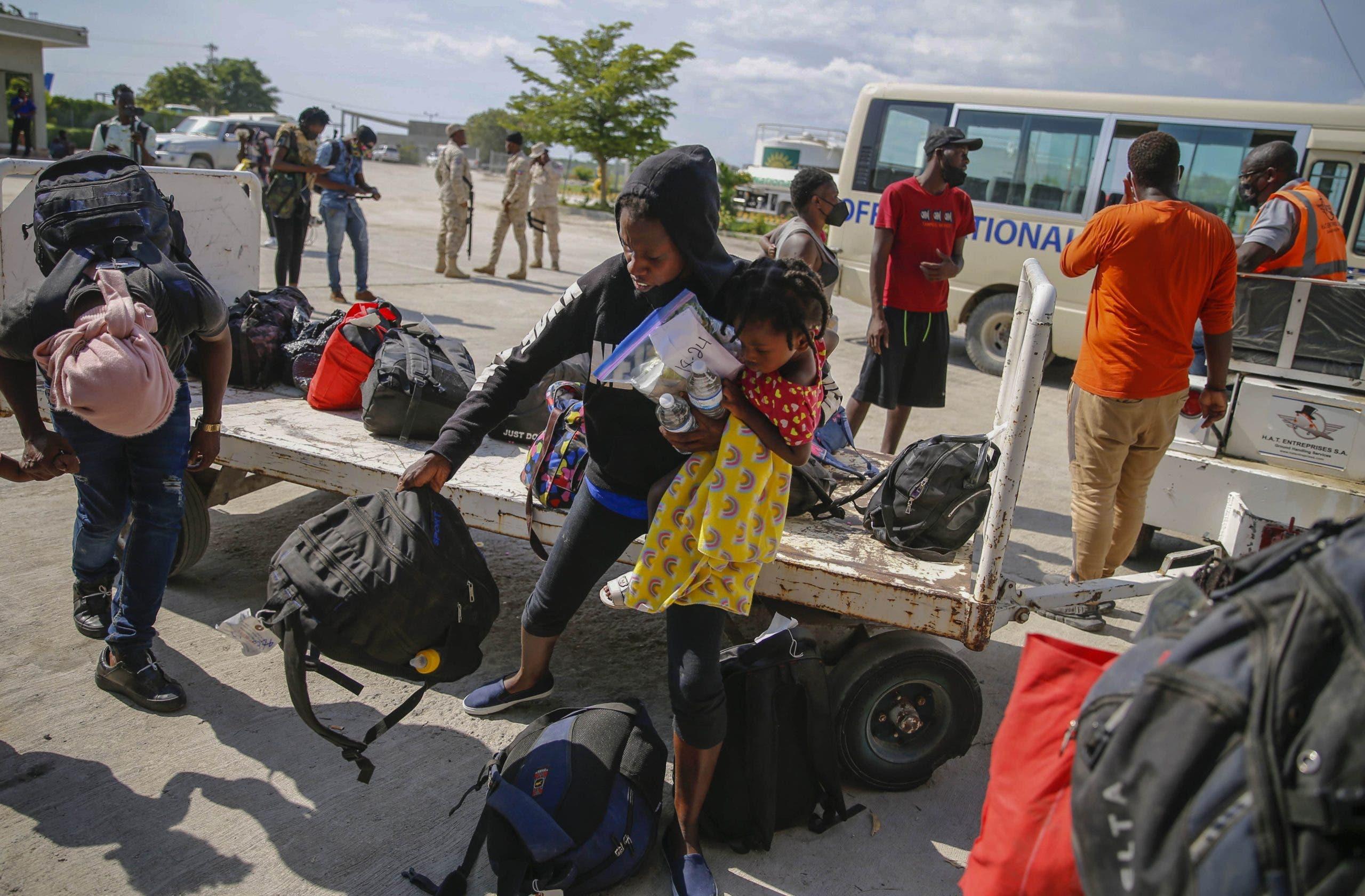 Estados Unidos deporta a 560 haitianos en los dos últimos días