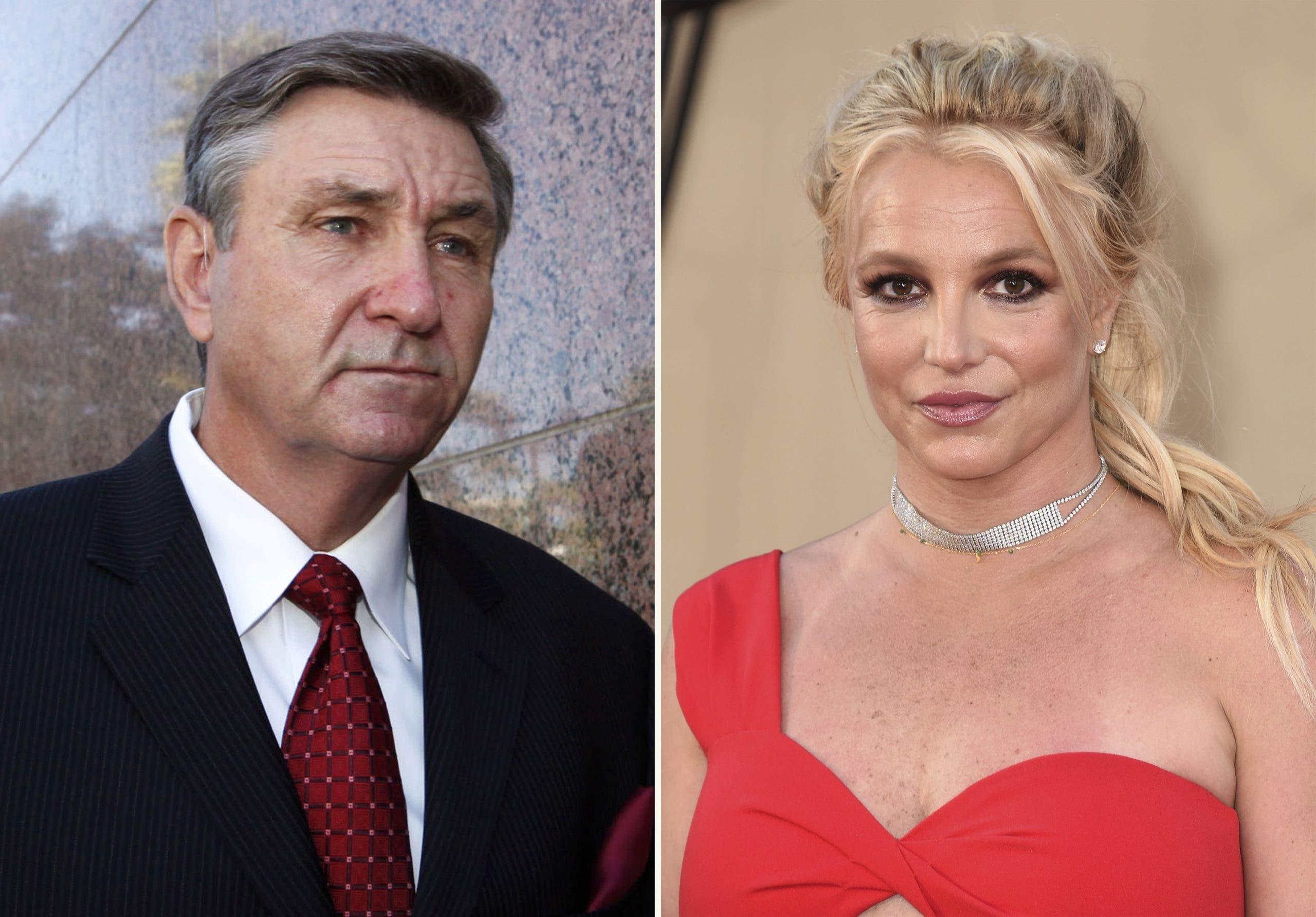 Jueza suspende a padre de Britney Spears de tutela