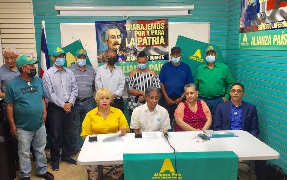 Alianza País en NY condena presidente Abinader excluyera diáspora del Dialogo Nacional