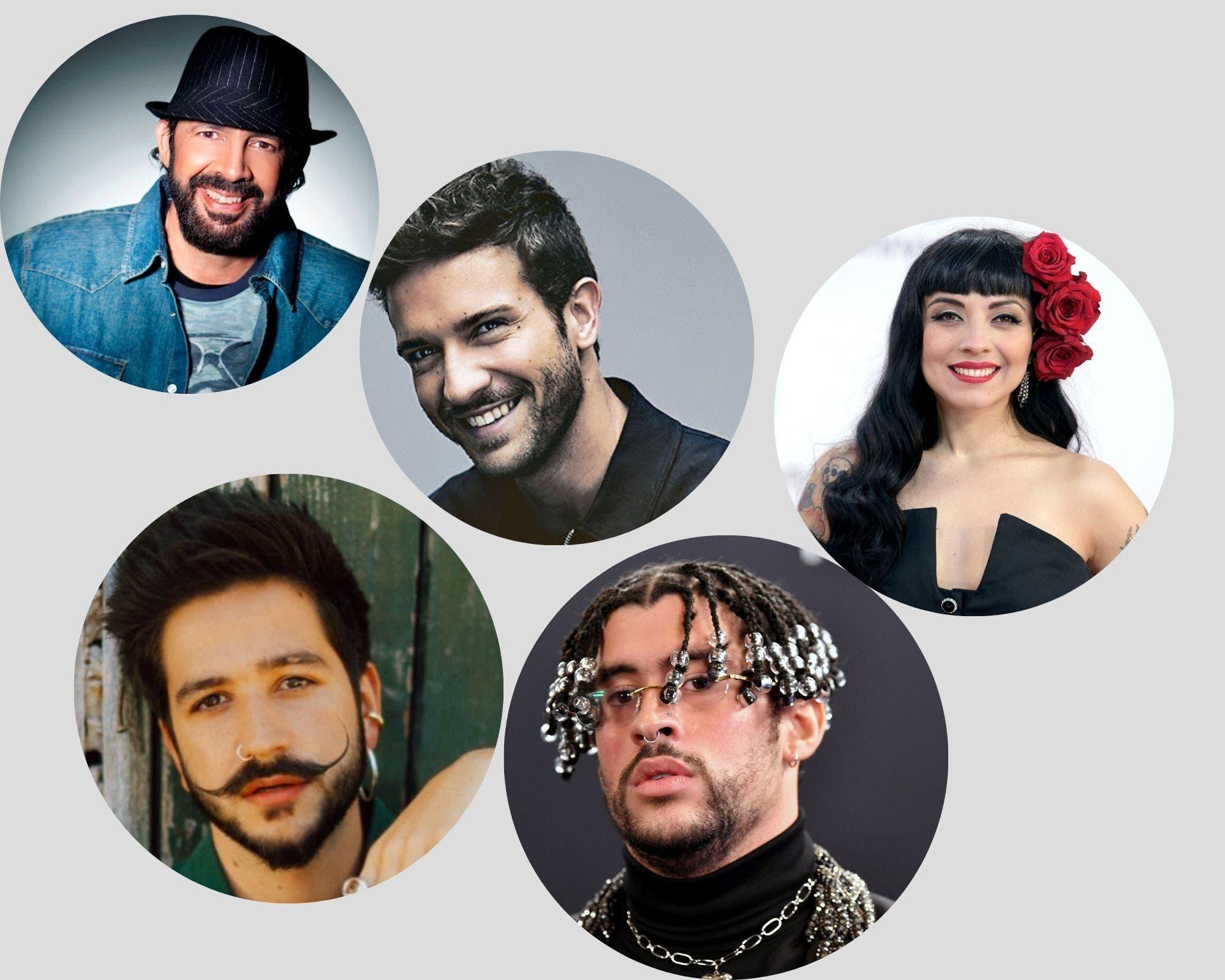 Camilo y Juan Luis Guerra lideran las candidaturas de los Latin Grammy