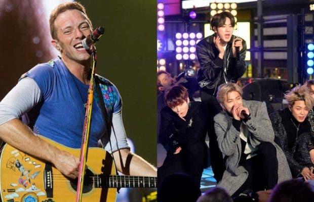 """Coldplay incluirá un tema con BTS en su próximo disco, """"My Universe»"""