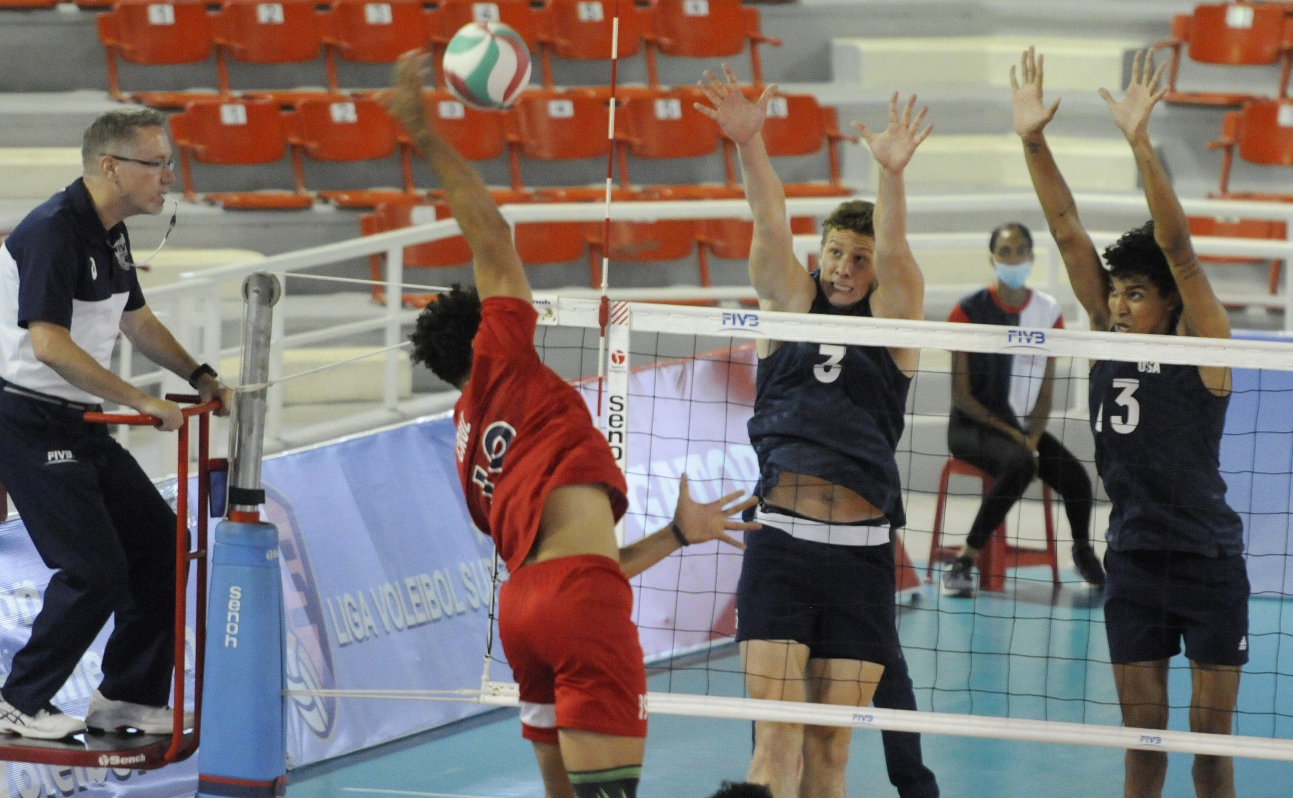 EE.UU gana bronce al vencer 3-1 a RD en la Copa Panamericana Masculina