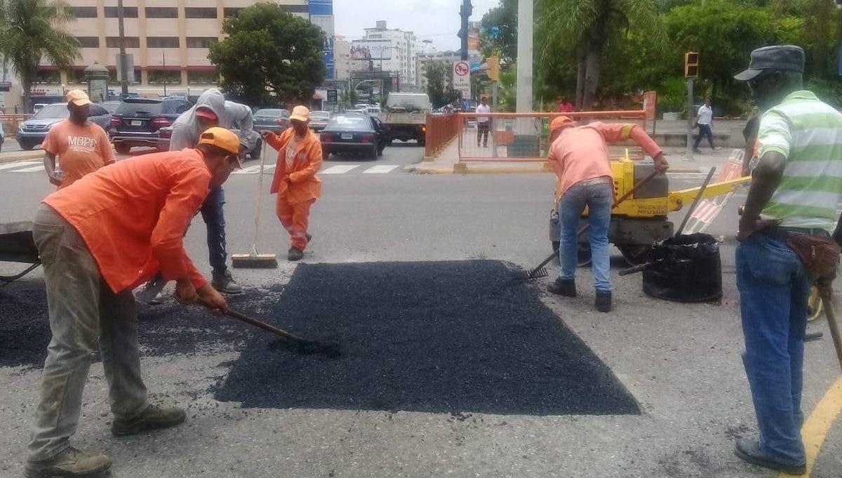 MOPC trabajará avenida Winston Churchill desde la noche de este viernes