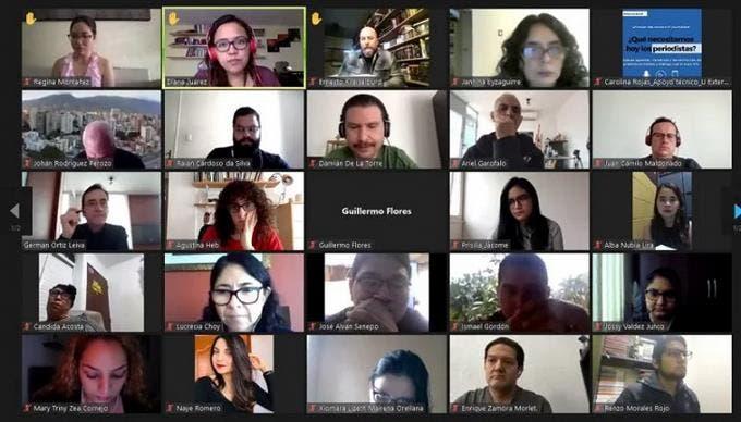 Inicia con éxito diplomado internacional SIP/CLAEP para periodistas