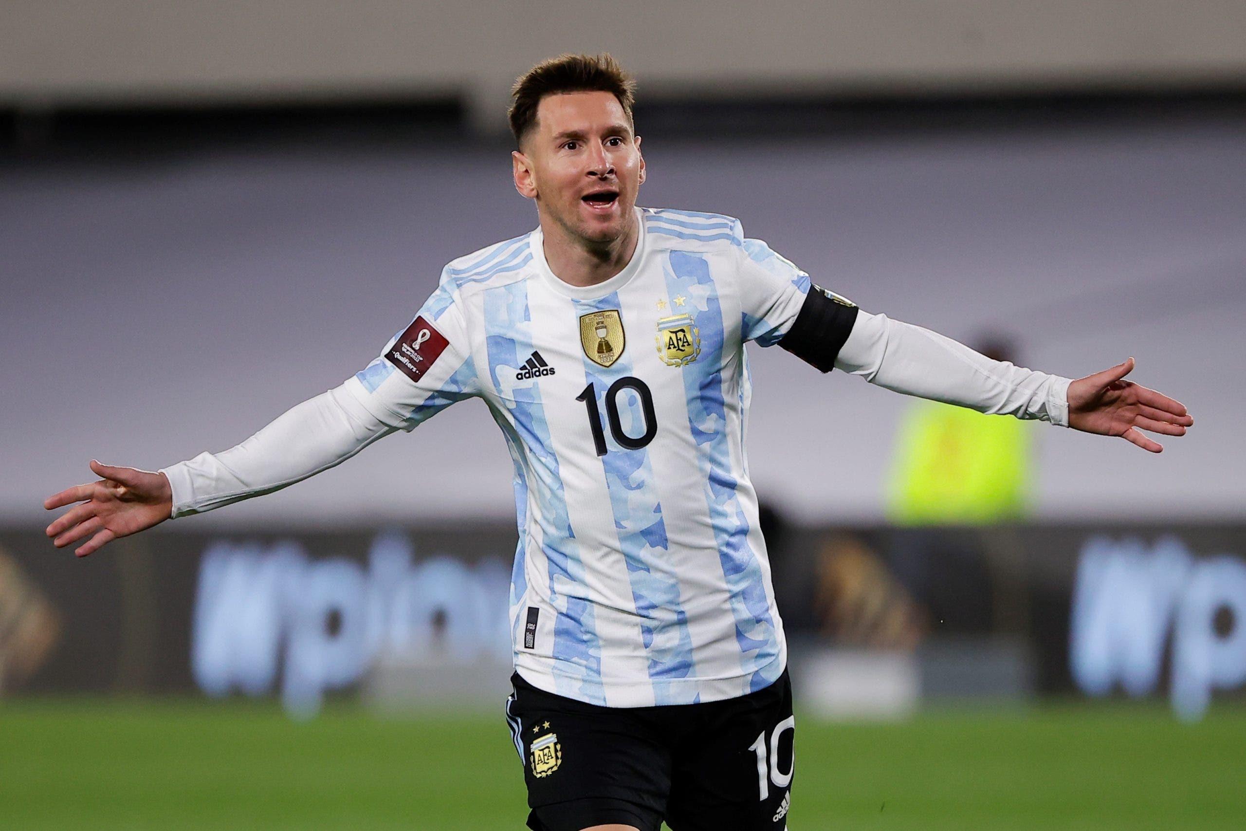 Messi anota e iguala a Pelé como máximo goleador de selecciones en Sudamérica