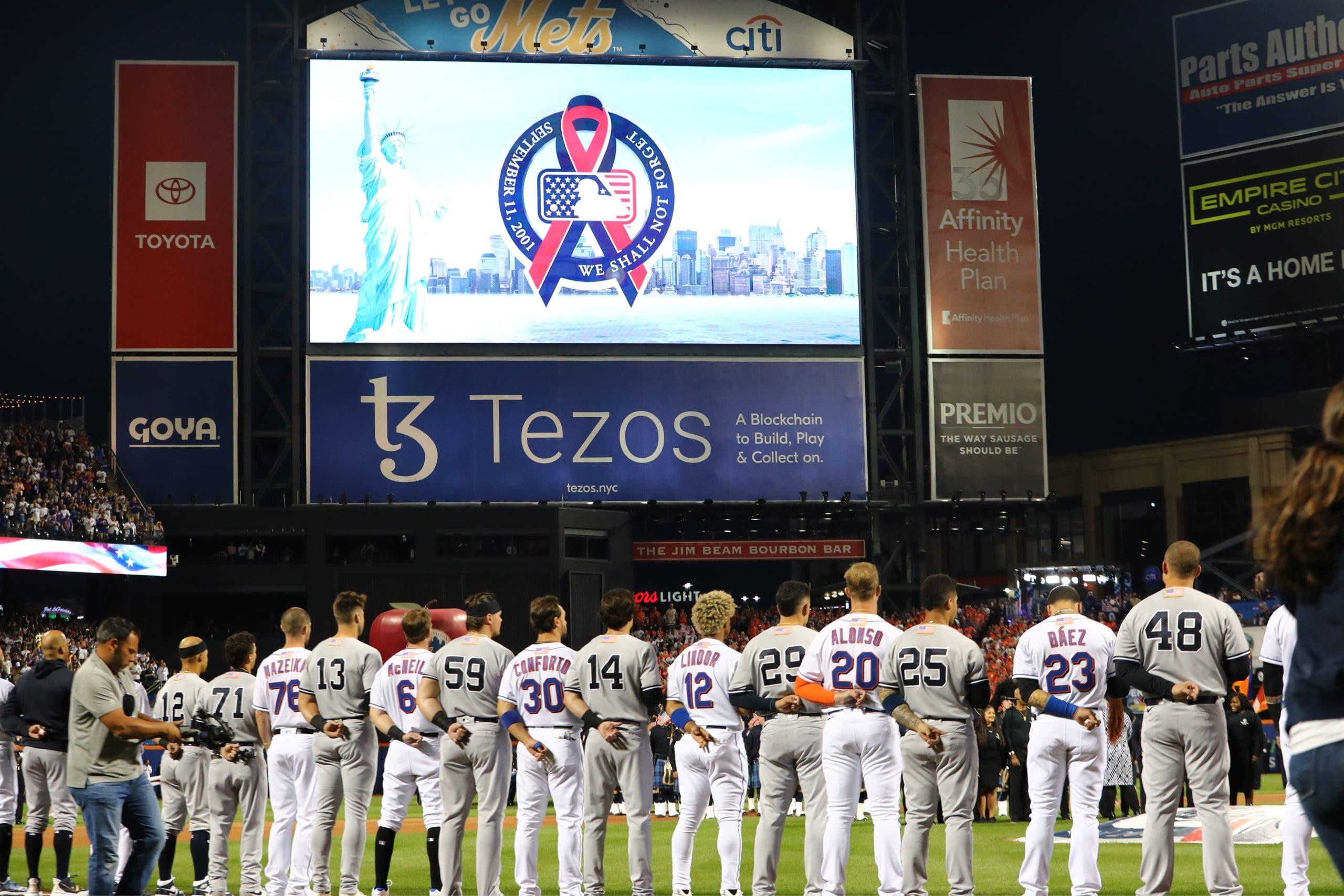 Las Grandes Ligas conmemora el 20mo aniversario del 9/11