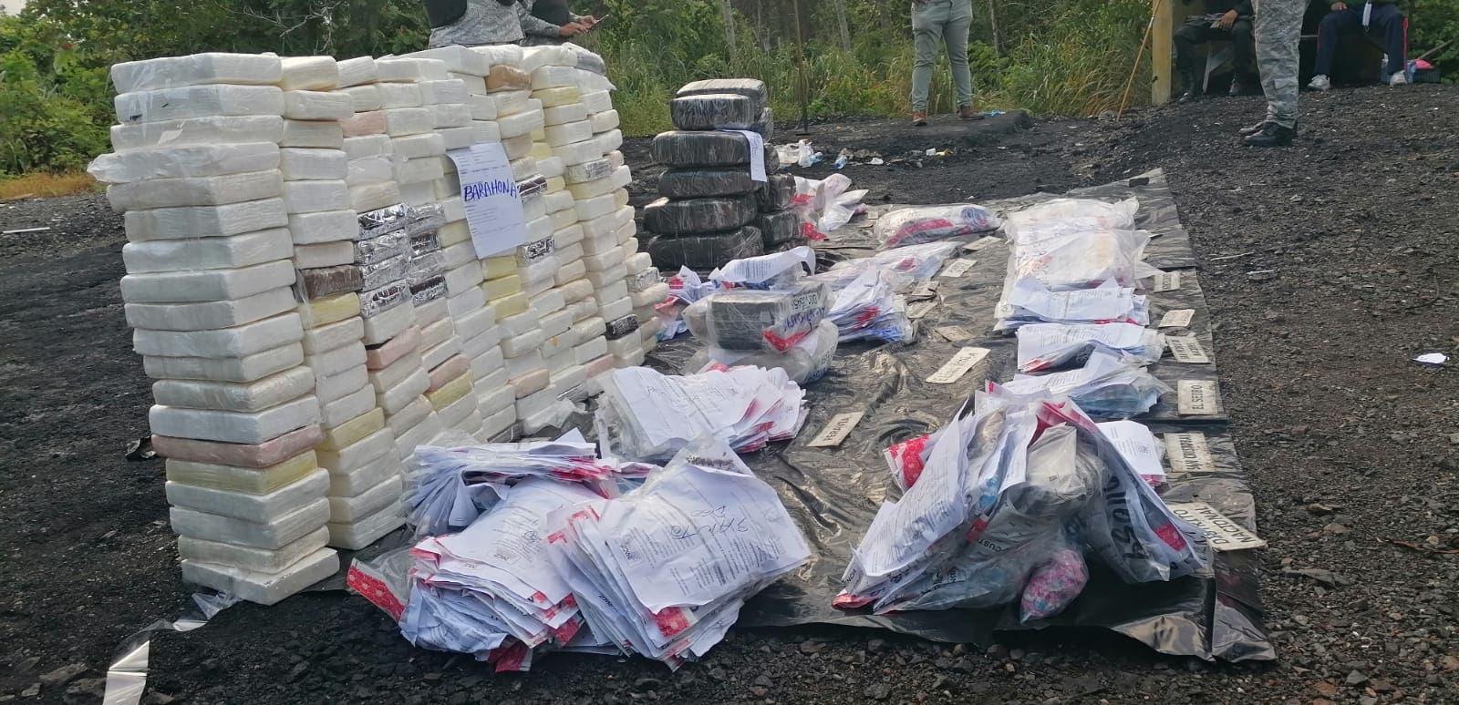 Procuraduría General incinera más de 280 kilogramos de diferentes drogas