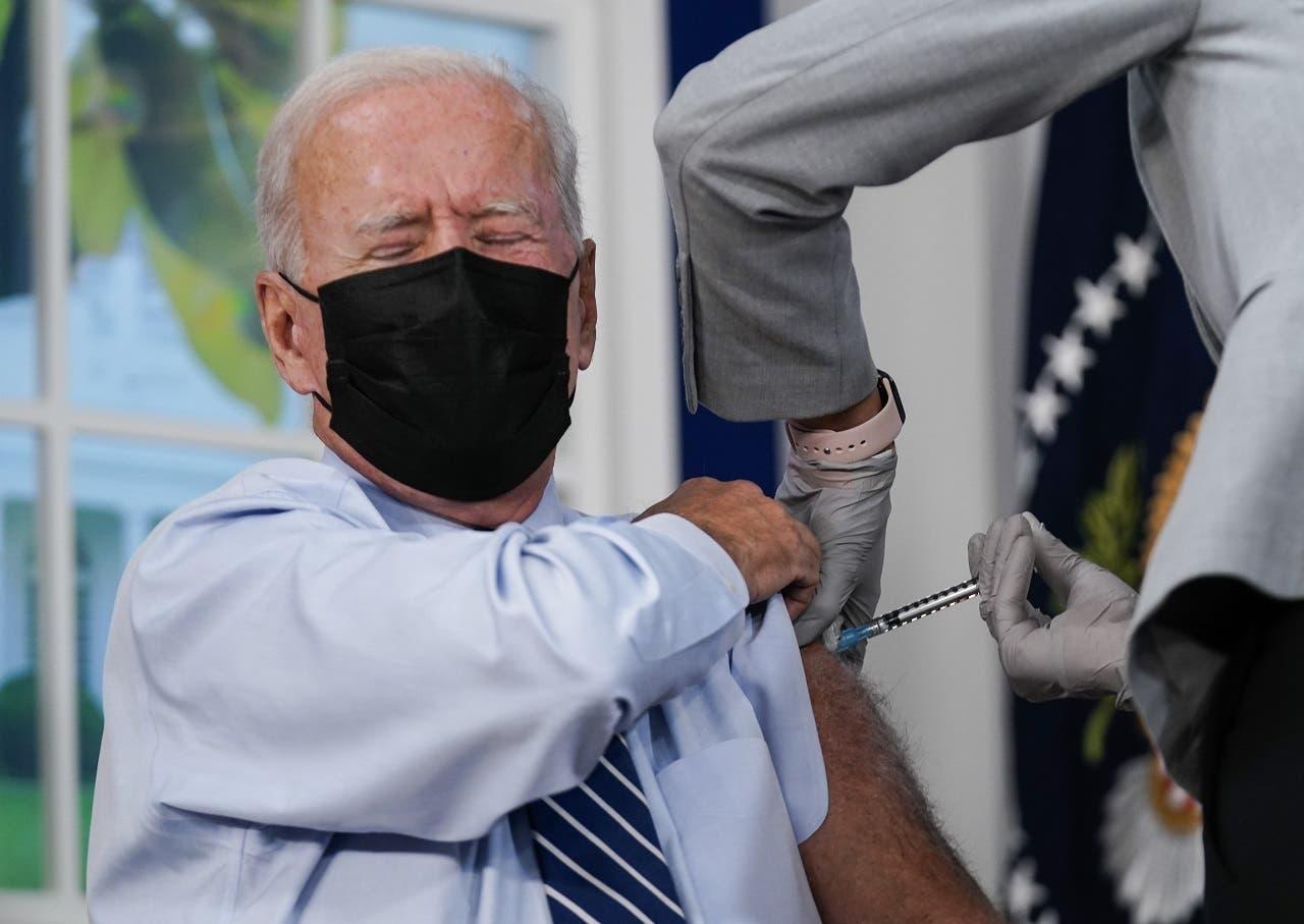 Presidente Biden se pone la tercera dosis de la vacuna contra la Covid-19