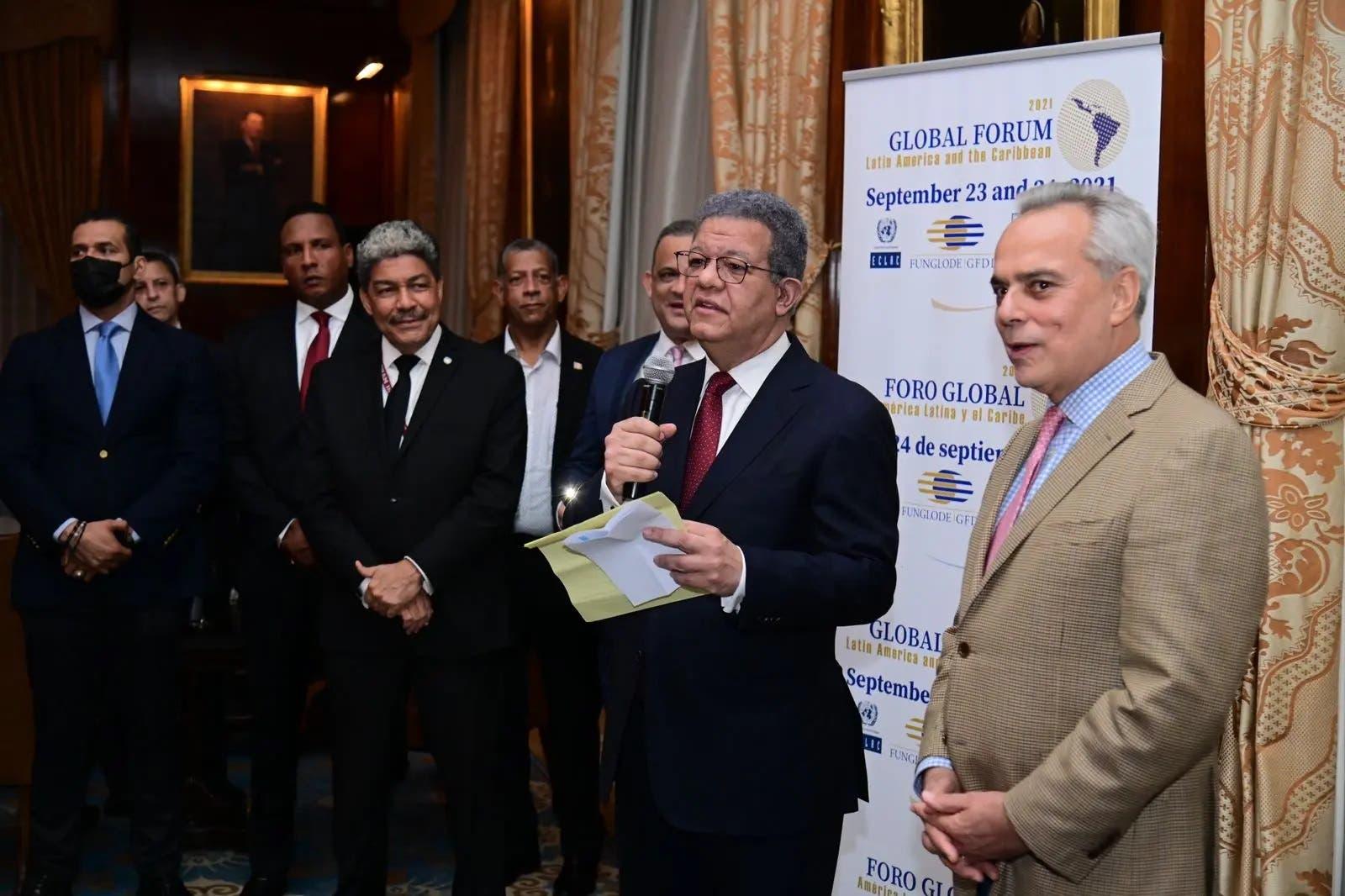 Leonel Fernández reitera su oposición a una posible reforma constitucional en RD