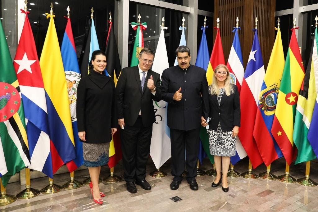 Maduro llega a México para cita CELAC pese a cargos de EEUU