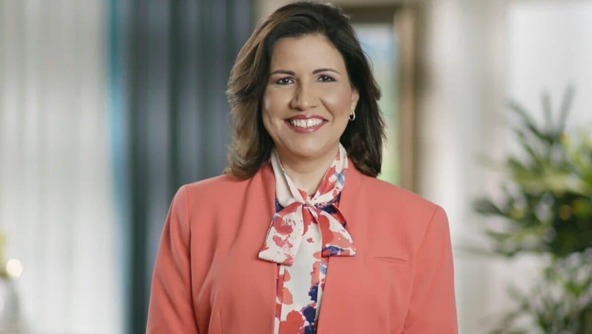 Margarita Cedeño anuncia sus aspiraciones a la presidencia