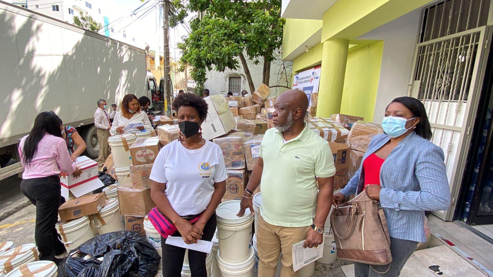 La diáspora haitiana en RD envía asistencia humanitaria a afectados por terremoto