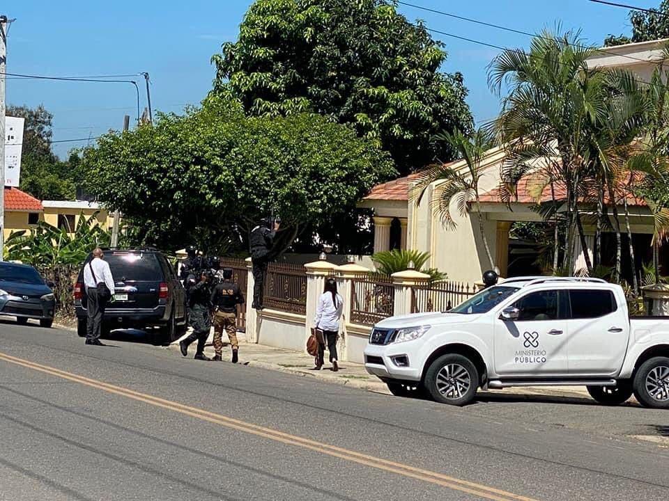 Operación Falcón: realizan 10 allanamientos simultáneos hoy en el Cibao