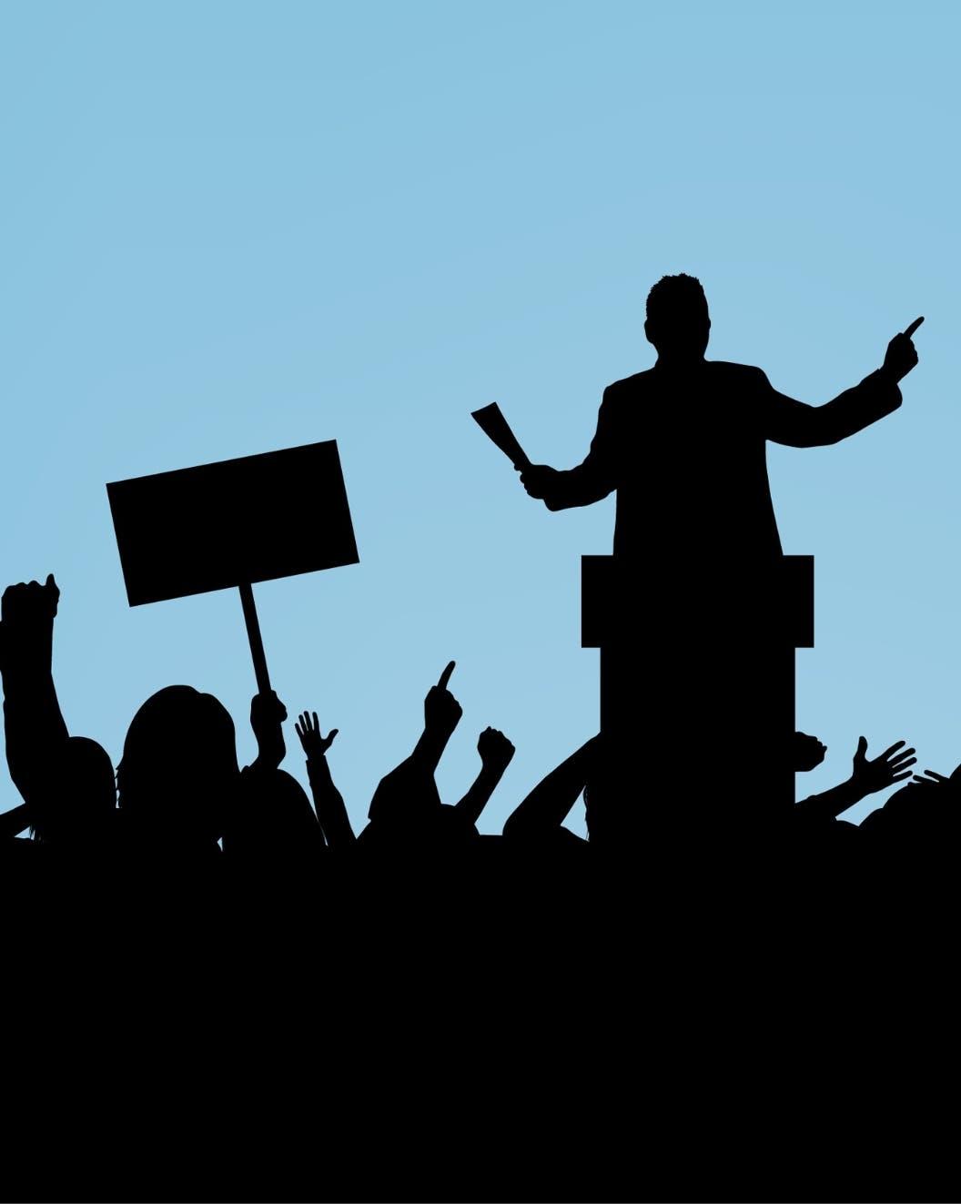 Del entretenimiento  a la política